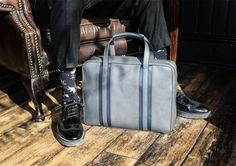 The London Business Briefcase by Davidoff is a great bag for a business man. It has all the compartments that you would need for your laptop, documents, news Business Briefcase, Leather Briefcase, Messenger Bag Men, Leather Handbags, Leather Bags, Travel Bags, Gym Bag, Shoulder Bag, Wallet