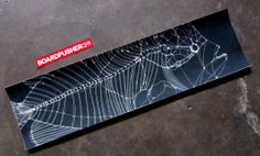 "As an added bonus, here's some www.BoardPusher.com Featured Griptape also designed by Rob Craigie (www.RobCraigie.com) from the same ""Fish Blueprints"" series."