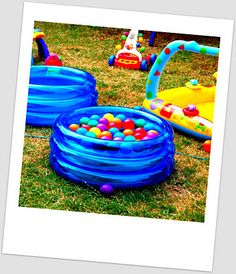 My Busy Little Life Rhys 1st Birthday Pool Party