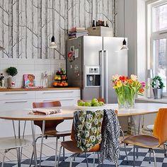 Wallpaper for kitchen
