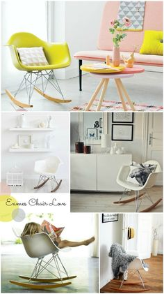 Eames Chair Love: Hello Petal