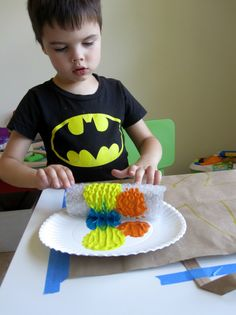 bubblewrap starfish craft for kids