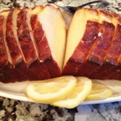 Healthy Moist Lemon Bread: cut down sugar in the batter to 1/4 cup. Keep the sugar in the syrup at 1/3 cup. After 10 min of cooling, poke holes in the cake with a toothpick, especially in the middle.  Don't forget to let it cool for 10min before pouring the lemon syrup on! *DD