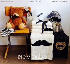 Movember: een samenwerking van Olliebollies.nl, Snowinjune.nl enTraktatiecorner.nl