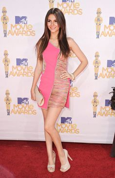"( ☞ 2017 ★ HOT CELEBRITY WOMAN ★ VICTORIA JUSTICE...IN MINISKIRT AND HIGH HEELS "" Pop ♫ "" ) ★ ♪♫♪♪ Victoria Dawn Justice - Friday, February 19, 1993 - 5' 5½"" 117 lbs 34-23-32 - Hollywood, Florida, USA."