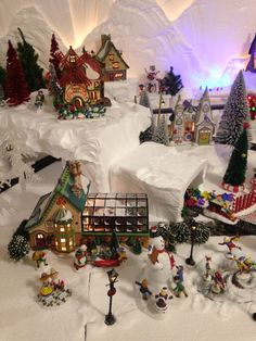 The Tinsel Mill is one of my favorites in my 2015 North Pole village.  I also love Mrs. Claus' Greenhouse in this section.  Hard to choose favorites with over 90 buildings and still collecting!