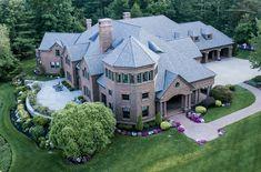 $5 Million 12,000 Square Foot Brick Mansion In Northborough, MA