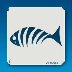 26-00054 fish stencil