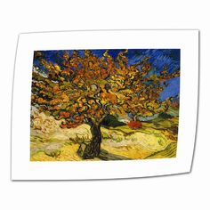 """Found it at Wayfair - """"Mulberry Tree"""" by Vincent Van Goghhttp://www.wayfair.com/daily-sales/p/Priceless-Works-of-Art%2C-Priced-Less-%22Mulberry-Tree%22-by-Vincent-Van-Gogh~ARWL1789~E4772.html?refid=SBP.rBAZEVO0n_EPDGXHGnVsAvwqUPtnXUmVhDUvMAp1SBY"""