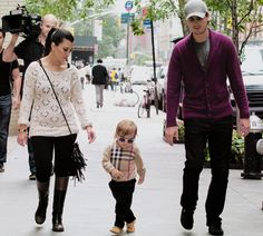 Have a baby with swag like Mason!! Wahhh, it's like a poster for the most stylish family!
