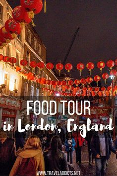 Check out this food tour in London, England.