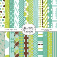 Buy 3 Get 3 FREE Sale Digital Paper Pack   by PrettifulDesigns, $3.75