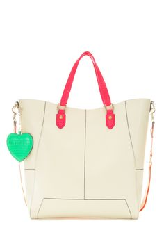 Pauls Boutique | Stella leather shopper in nude | Pauls Boutique Official web site