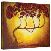 Herb Dickinson 'Ethereal Tree I' gallery-wrapped canvas is a brilliant wall art example of giclee art printed on high-quality canvas portraying a brightly colored Asian red and yellow abstract tree. Painting Prints, Wall Art Prints, Fine Art Prints, Poster Prints, Framed Prints, Canvas Prints, Red Wall Art, Extra Large Wall Art, Canvas Artwork
