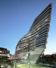 Innovation Tower // Zaha Hadid Architects & Arup Engineering