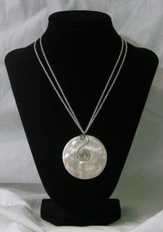 Silver Aztec Necklace from Creative By Default