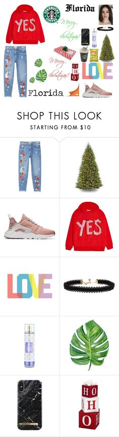 """Merry christmas!"" by floridanuha ❤ liked on Polyvore featuring MANGO, NIKE, Alice + Olivia, Native State, Vanessa Mooney, iDeal of Sweden and Alpine"