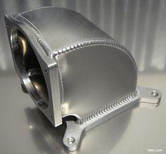 4150 elbow adapter throttle body throttlebody Accufab 90mm 95mm 105mm