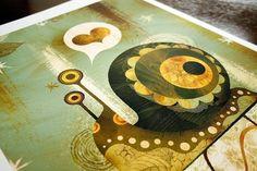 The Enamored Snail (13x19) | Alberto Cerriteño | Illustrator • Animator • Director - $75