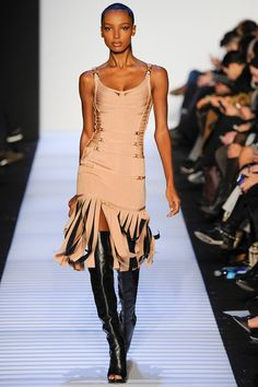 Fall 2014 collection Herve Leger runway dresses
