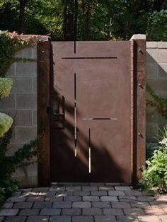 sheet metal rust gate - Google Search