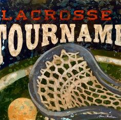 """Lacrosse Tournament"" wall art for kids by Aaron Christensen for Oopsy daisy, Fine Art for Kids $69"