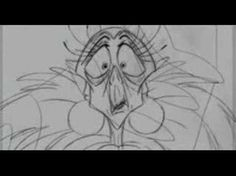 Emperor's New Groove - Dining Room Scene Rough Animation