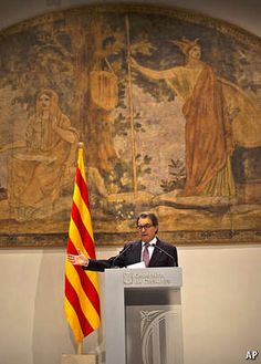 Spain and Catalonia: Mas observation - economist.com, Jan 24th 2015. Mr Mas and the ERC leader, Oriol Junqueras, want to agree on a common road-map to independence. Mr Junqueras will push for it to be hard-hitting. But some of Mr Mas's allies within CiU want it weakened. If not, the coalition's junior partner, the Democratic Union of Catalonia, may split from Mr Mas's own Catalan Democratic Convergence. And the slim majority for independence found in some polls may go with it.