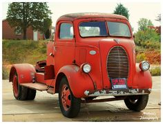 """A Ford 85 Truck that I saw """"For Sale"""" at a small country store in Overton County Tennessee."""