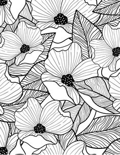 Trilling Exercises To Get Better At Drawing Ideas. Astounding Exercises To Get Better At Drawing Ideas. Zentangle Drawings, Zentangle Patterns, Zentangles, Simple Line Drawings, Easy Drawings, Drawing Simple, Plant Drawing, Painting & Drawing, Flower Drawing Tutorials