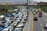 محدودیت ترافیکی در آزادراه تهران-قم منتهی به حرم امام  محور کندوان امروز یکطرفه است