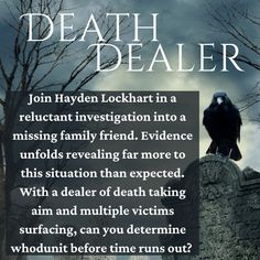 Death Dealer, our quarter two Murder Mystery Box, is now available. Mystery awaits... MurderMysteryBox.com . . . . . #mystery #deathdealer #murdermystery #mysteryfiction #solve #clue #crime #evicence #investigate #freeshipping #sale #giftideas2021