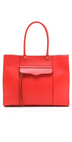 Give your look a nice punch of color with the Rebecca Minkoff 'MAB' tote $295, get it here:  http://rstyle.me/~xpSd