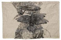 Kiki Smith, OHNE TITEL (WOMAN WITH BIRD)