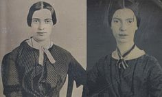 "Teenage Emily Dickinson, meet adult Emily Dickinson….maybe.    A new photograph has surfaced in Amherst that reportedly shows Emily Dickinson in her mid-twenties. Her dress is apparently out of fashion for the time,1859, but that's in keeping with her personality: ""I'm so old fashioned, Darling, that all your friends would stare."""