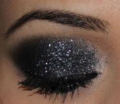 Dica de maquiagem com glitter - 3