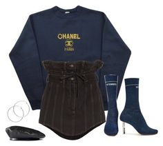"""Untitled #630"" by lady99inred ❤ liked on Polyvore featuring Chanel, Y/Project, Vetements, Melissa Odabash and Gucci"