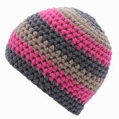 Simple Crocheted Beanie