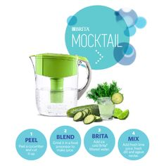 Shake up your water routine with this Brita® Mocktail.
