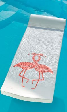 Our World's Finest Pool Float with Screen-prints delivers incredible full-body support and nearly unsinkable buoyancy.