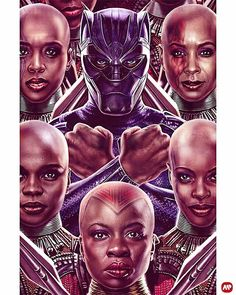Great to see a movie that black women are the warriors in. Yes! Show our girls. We are brave, fearless, and  strong