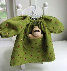 green acorn baby 4 by germandolls, via Flickr
