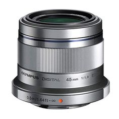 Shop Olympus M.Zuiko Digital 45 mm Lens, Fast Fixed Focal Length, Suitable for All MFT Cameras (Olympus OM-D & PEN Models, Panasonic G-Series), Silver. Nikon D3100, Digital Lenses, Digital Slr, Digital Cameras, Digital Review, Camera Deals, Best Digital Camera, Gopro, Couple Photography