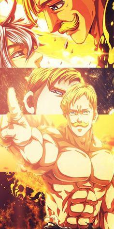 nanatsu no taizai Seven Deadly Sins Anime, 7 Deadly Sins, Otaku Anime, Anime Naruto, Manga Anime, Anime Angel, Meliodas Vs, Konosuba Wallpaper, Animé Fan Art