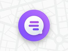 Quick Message Bubble by Jesse Chapo App Icon Design, App Ui Design, Typography Logo, Logo Branding, Logos, Message Logo, Message App, Bubble App, Purple Wallpaper Iphone
