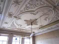 Decorative plaster.