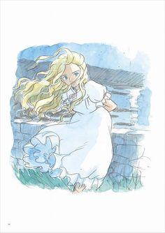 When Marnie Was There (Studio Ghibli) Studio Ghibli Films, Art Studio Ghibli, Studio Ghibli Characters, Hayao Miyazaki, Film Manga, Anime Manga, Anime Art, Erinnerungen An Marnie, Animation