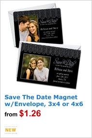 save the date magnet wedding use a pic of william and i holding walmart digital photo center store new products