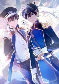 Conan and kaito kid Dc Anime, Kawaii Anime, Manga Anime, Anime Art, Magic Kaito, Hot Anime Guys, Anime Love, Detective Conan Shinichi, Detektif Conan