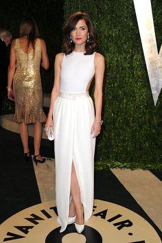 Rose Byrne. Gala de Vanity Fair en la noche de los Oscares 2013